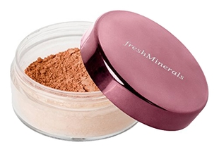 FreshMinerals Рассыпчатая Пудра-Основа с Минералами Mineral Loose Powder Foundation Fresh Tanned, 11г