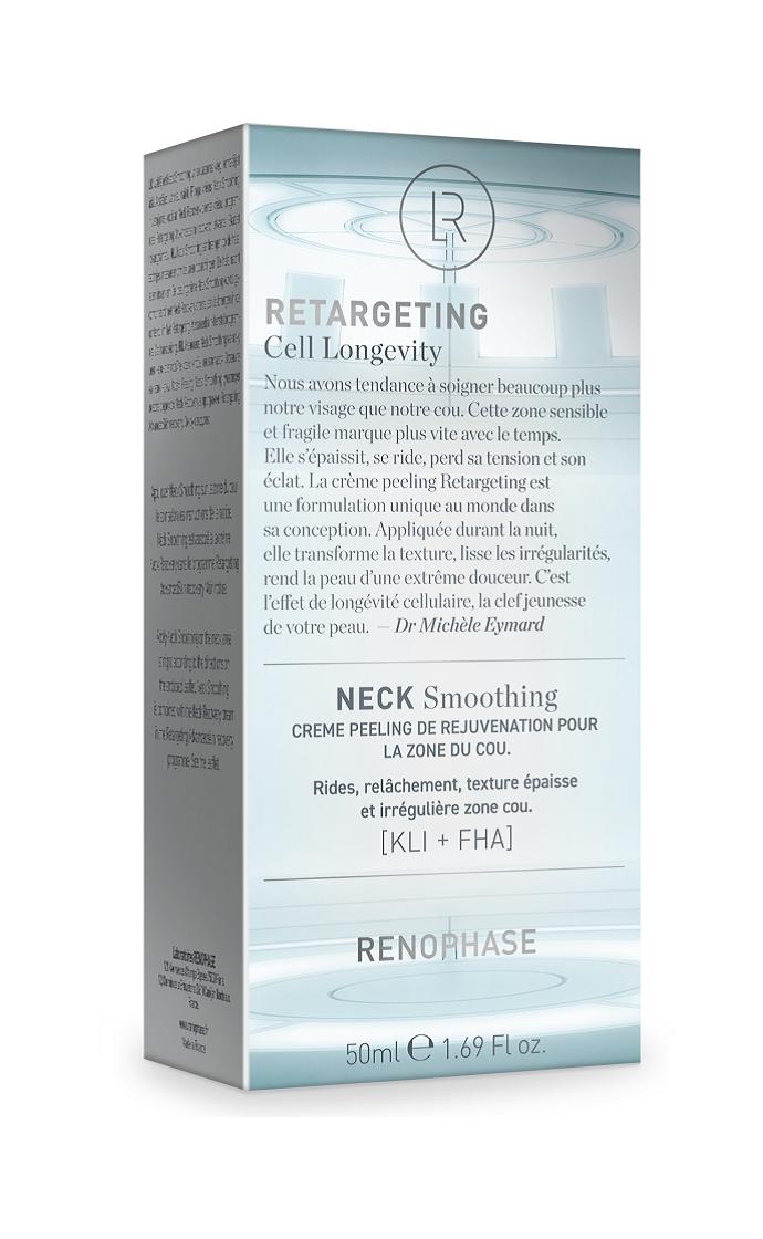 Renophase Крем-Пилинг Neck Smoothing для Омоложения Кожи Шеи, 50 мл крем лифтинг для шеи и декольте