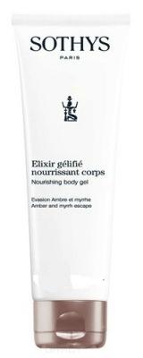 Sothys Крем-Гель Nourishing Body Jellified Elixir Питательный для Тела, 125 мл гель для тела elixir gelifie nourrissant corps крем гель 30мл