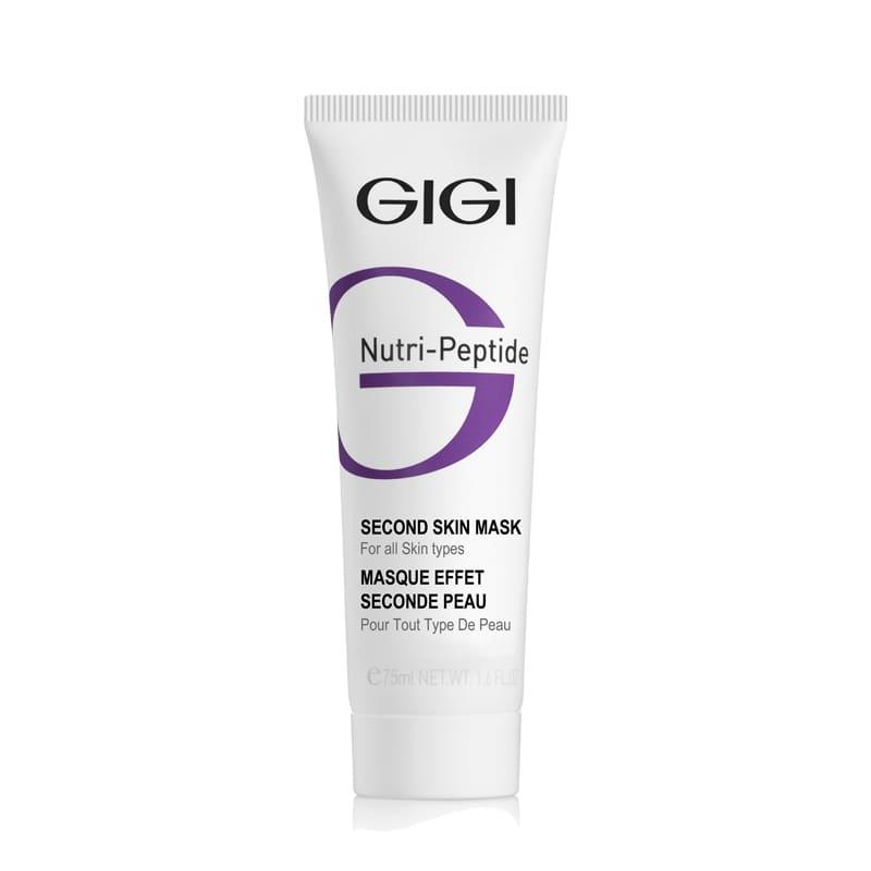 GIGI Маска-Пилинг NP Second Skin Mask Черная Пептидная Вторая Кожа, 50 мл ихтиоловая маска gigi