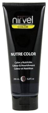 Nirvel Professional Гель-Маска Nutre Color Black Цвет Черный, 200 мл