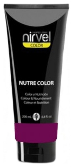 Nirvel Professional Гель-Маска Nutre Color Blackberry Цвет Ежевика, 200 мл