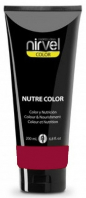 Nirvel Professional Гель-Маска Nutre Color Carmine Цвет Кармин, 200 мл