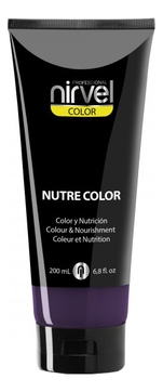 Nirvel Professional Гель-Маска Nutre Color Dark Aubergine Питательная Цвет Темно-Баклажановая, 200 мл