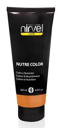 Nirvel Professional Гель-Маска Nutre Color Orange Цвет Оранжевая, 200 мл