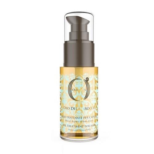 Barex Масло-Уход Olioseta Oro Del Marocco Oil Treatment for Hair с Маслами Арганы и Семян Льна, 30 мл