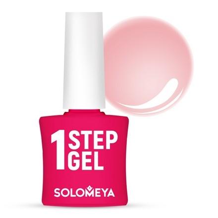 Solomeya Гель-Лак One Step Gel Begonia Однофазный Бегония 5, 8,5 мл цены онлайн