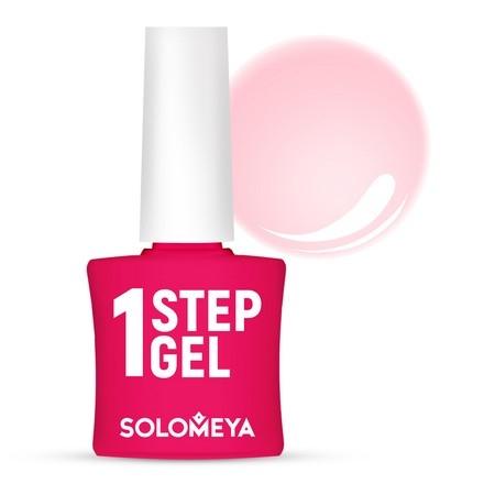 цены Solomeya Гель-Лак One Step Gel  Camellia Однофазный Камелия 4, 8,5 мл
