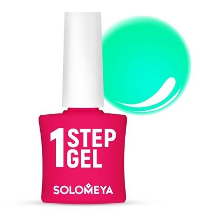 Solomeya Гель-Лак One Step Gel Mint Однофазный Мята 12, 8,5 мл недорого