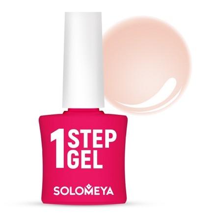 Solomeya Гель-Лак One Step Gel Peach Однофазный Персик 3, 8,5 мл