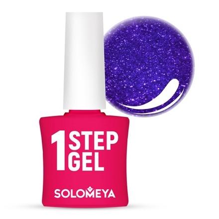 Solomeya Гель-Лак One Step Gel Sapphire Однофазный Сапфир 24, 8,5 мл