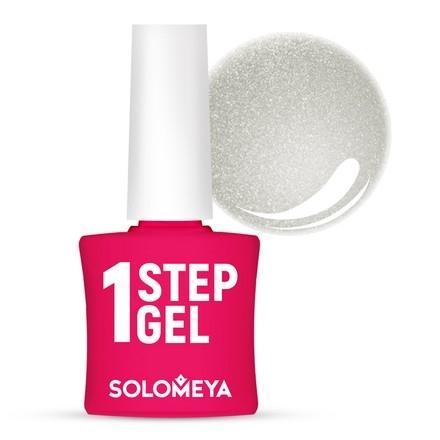 Solomeya Гель-Лак One Step Gel Silver Однофазный Серебро 36, 8,5 мл