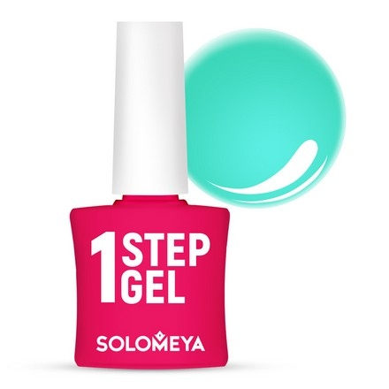Solomeya Гель-Лак One Step Gel Tiffany Однофазный Тиффани 27, 8,5 мл планшет apple ipad pro mtxt2ru a a12x bionic 4gb 512gb 11 ips retina qsxga wi fi bt 7 12mpx ios space grey