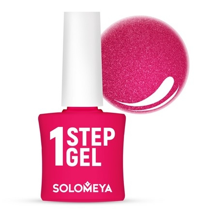 Solomeya Гель-Лак One Step Gel Tourmaline Однофазный Турмалин 32, 8,5 мл