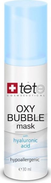 TETe Cosmeceutical Кислородно-Пенная Маска Oxy Bubble Mask, 30 мл tete cosmeceutical маска успокаивающая с хитозаном 500г