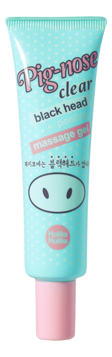 Holika Гель-Пилинг для Очистки Пор Pignose Clear Black Head Peeling Massage Gel, 30 мл