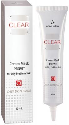 Фото - Anna Lotan Крем-маска Provit Cream Mask Провит для жирной проблемной кожи, 40 мл anna lotan крем oil free formula тональный для жирной проблемной кожи 1 30 мл