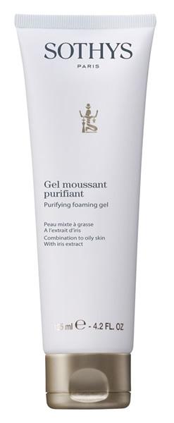 Sothys Гель-Мусс Purifying Foaming Gel Очищающий, 125 мл skincode essentials purifying cleansing gel гель очищающий 125 мл