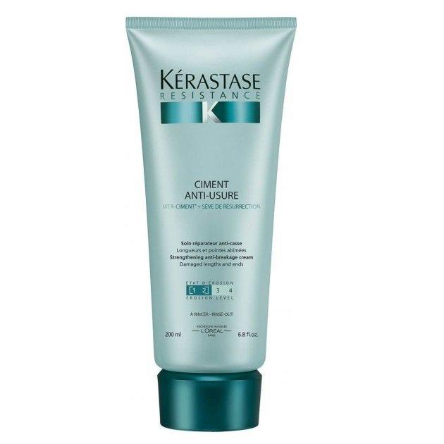 Kerastase Молочко Уход-Цемент для Поврежденных Волос Resistance, 200 мл kerastase cicaflash молочко уход 250 мл