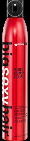 цена на Sexy Hair Мусс-Спрей Root Pump Plus для Объема Влагостойкий, 300 мл