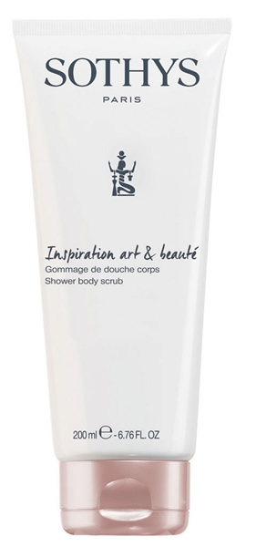 Sothys Скраб-Гель Shower Body Scrub Inspiration Art & Beaute для Душа с Голубым Ирисом,  200 мл