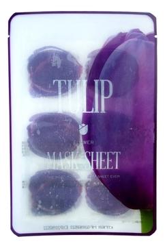 Kocostar Маска-Слайс Slice Mask Sheet для Лица Тюльпан, 20 мл