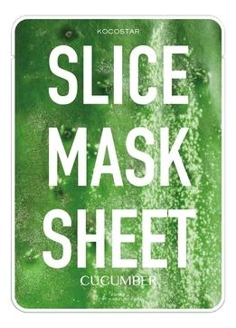 Kocostar Маска-Слайс Slice Mask Sheet для Лица Огурец, 20 мл