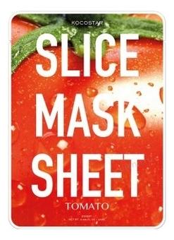 Kocostar Маска-Слайс Slice Mask Sheet для Лица Томат, 20 мл купить эластичную маску для лица