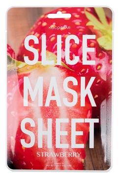 Kocostar Маска-Слайс Slice Mask Sheet для Лица Клубника, 20 мл