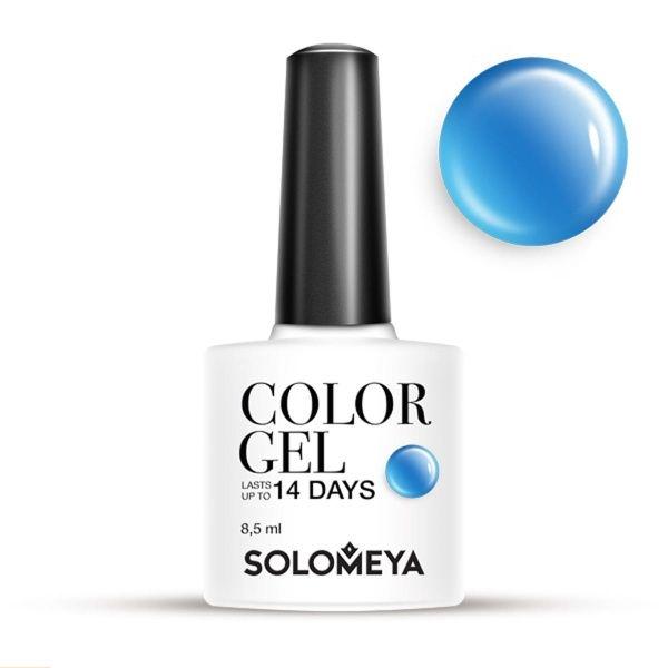Solomeya Гель-Лак Solomeya Color Gel Blue Candy SCG068 Голубая Конфета 33, 8,5 мл solomeya гель лак color gel тон pink iris scgle051 розовый ирис 8 5 мл