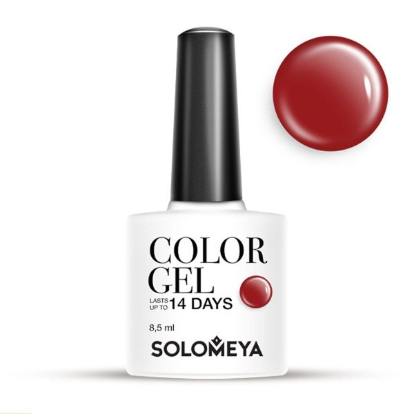 Solomeya Гель-Лак Color Gel Bordeaux SCG138 Бордо 37, 8,5 мл