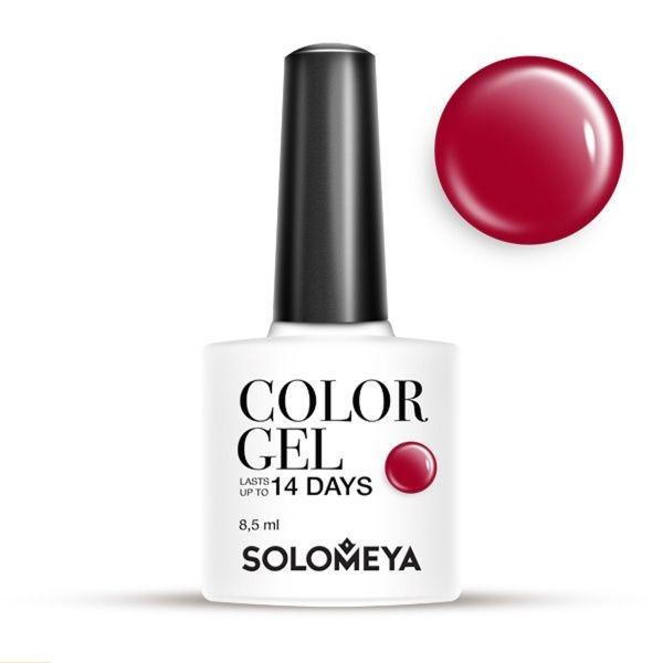 Solomeya Гель-Лак Solomeya Color Gel Cerise SCG150 Светло-Вишневый 09, 8,5 мл solomeya гель лак solomeya color gel spring lilac scg054 весенняя сирень 105 8 5 мл