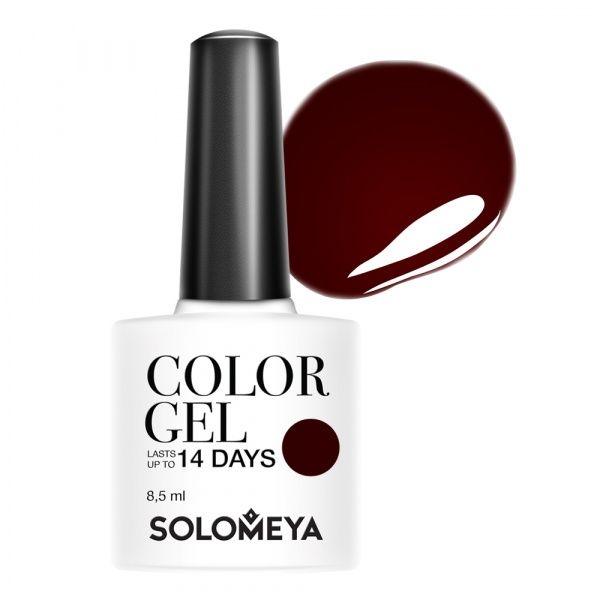 Solomeya Гель-Лак Solomeya Color Gel Cherry Desser 122 Вишневый Десерт, 8, 5 мл solomeya гель лак solomeya color gel spring lilac scg054 весенняя сирень 105 8 5 мл