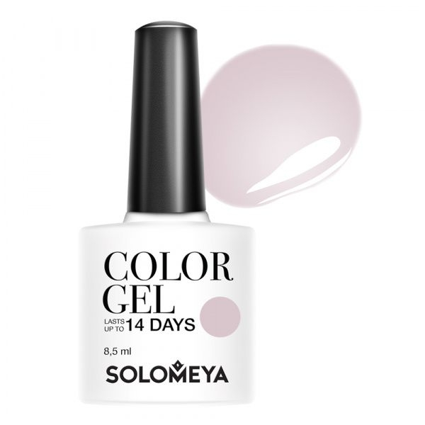 Solomeya Гель-Лак Solomeya Color Gel Creme Brulee 112 Крем-Брюле, 8,5 мл solomeya топ гель top gel stg 8 5 мл