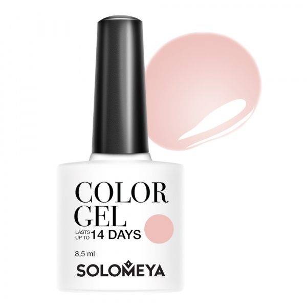 Solomeya Гель-Лак Solomeya Color Gel Сhic Nude 115 Нюдовый Шик, 8,5 мл solomeya топ гель top gel stg 8 5 мл