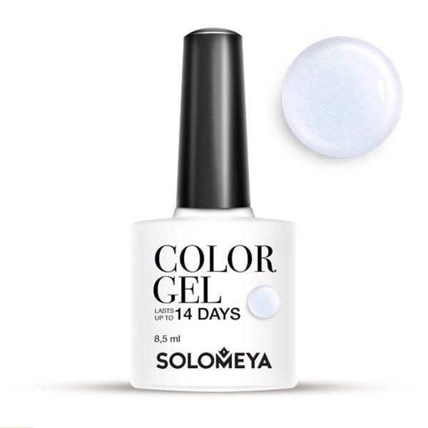 Solomeya Гель-Лак Solomeya Color Gel Lilac SCG122 Нежно-Лиловый 06, 8,5 мл solomeya гель лак color gel тон pink iris scgle051 розовый ирис 8 5 мл