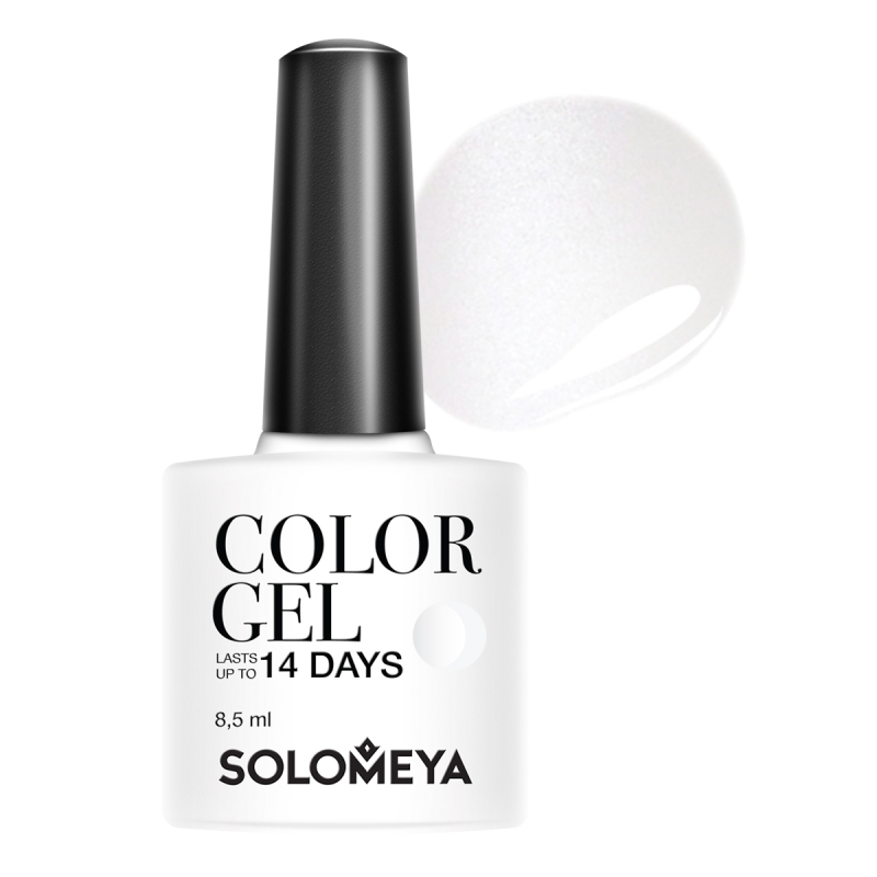 Solomeya Гель-Лак Solomeya Color Gel Marie SCGW001 Мэри 79, 8,5 мл solomeya топ гель top gel stg 8 5 мл