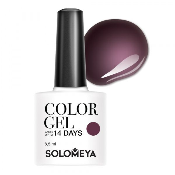 Solomeya Гель-Лак Color Gel Marishka SCG144 Маришка 86, 8,5 мл