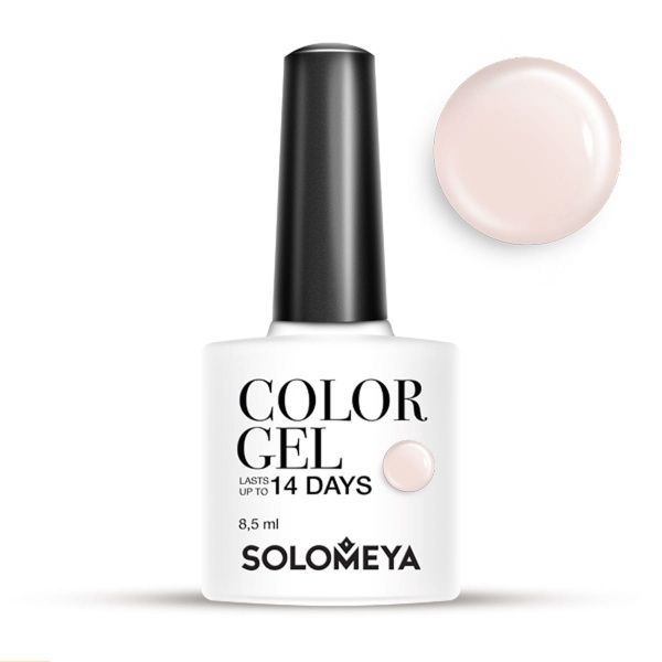 Solomeya Гель-Лак Solomeya Color Gel Marshmallow SCG164 Зефир 27, 8,5 мл solomeya топ гель top gel stg 8 5 мл