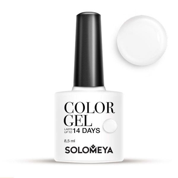 Solomeya Гель-Лак Color Gel Milk SCG154 Молоко 12, 8,5 мл