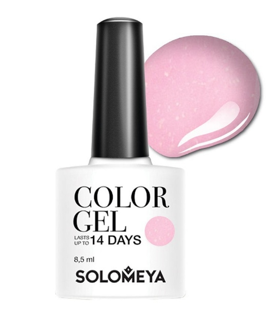 Solomeya Гель-Лак Solomeya Color Gel Pink Iris SCGLE051 Розовый Ирис 97, 8,5 мл solomeya топ гель top gel stg 8 5 мл