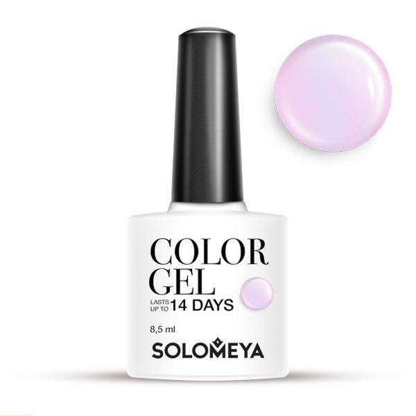 цена на Solomeya Гель-Лак Solomeya Color Gel Pinkish SCG124 Розоватый 07,8,5 мл