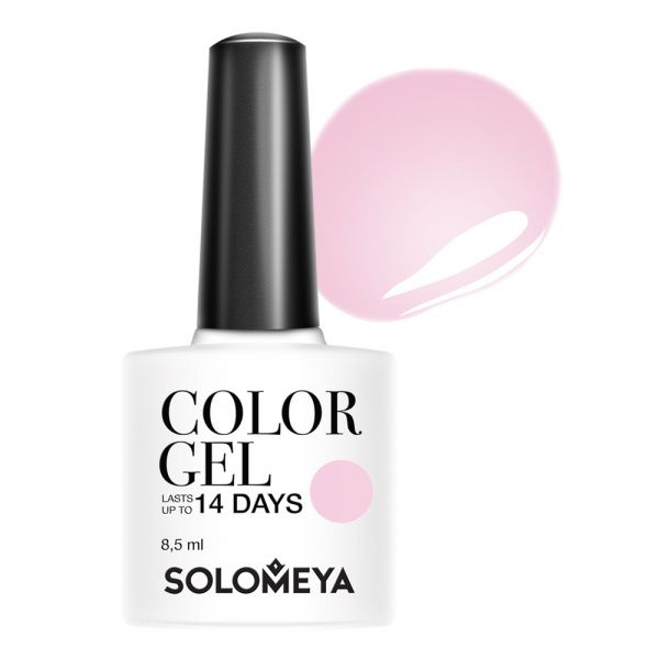 Solomeya Гель-Лак Solomeya Color Gel Pinkish Silk 113 Розовый Шелк, 8,5 мл solomeya топ гель top gel stg 8 5 мл