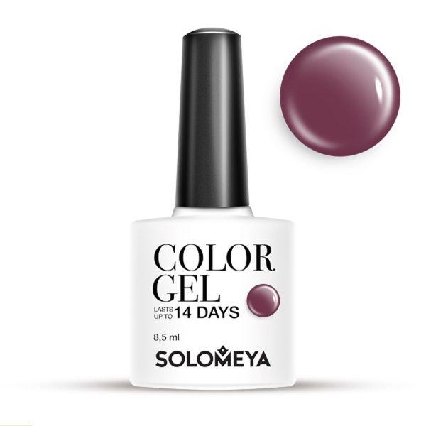 Solomeya Гель-Лак Solomeya Color Gel Red-Violet SCG162 Красно-Фиолетовый 26, 8,5 мл цена
