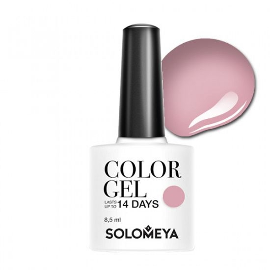 Solomeya Гель-Лак Solomeya Color Gel Spring Lilac SCG054 Весенняя Сирень 105, 8,5 мл solomeya топ гель top gel stg 8 5 мл