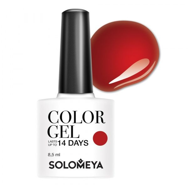 Solomeya Гель-Лак Solomeya Color Gel Verona SCGK085 Верона 82, 8,5 мл solomeya топ гель top gel stg 8 5 мл