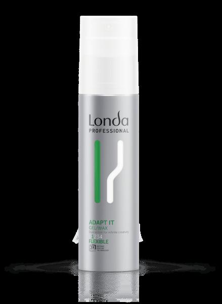 LONDA Гель-Воск Texture Adapt It для Укладки Волос Нормальной Фиксации, 100 мл
