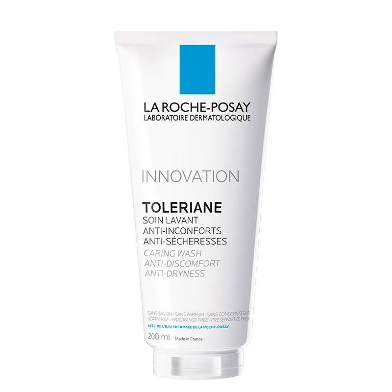 La Roche Posay Гель-Уход Toleriane Caring Wash для Умывания Очищающий Толеран, 200 мл