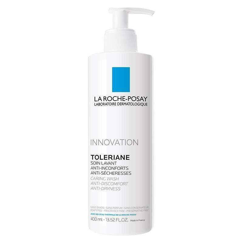 La Roche Posay Гель-Уход Toleriane Caring Wash для Умывания Очищающий Толеран, 400 мл