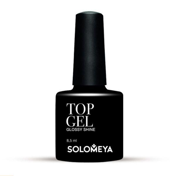 Solomeya Топ-Гель Top Gel STG, 8,5 мл solomeya гель лак color gel тон aries scg082 овен 8 5 мл
